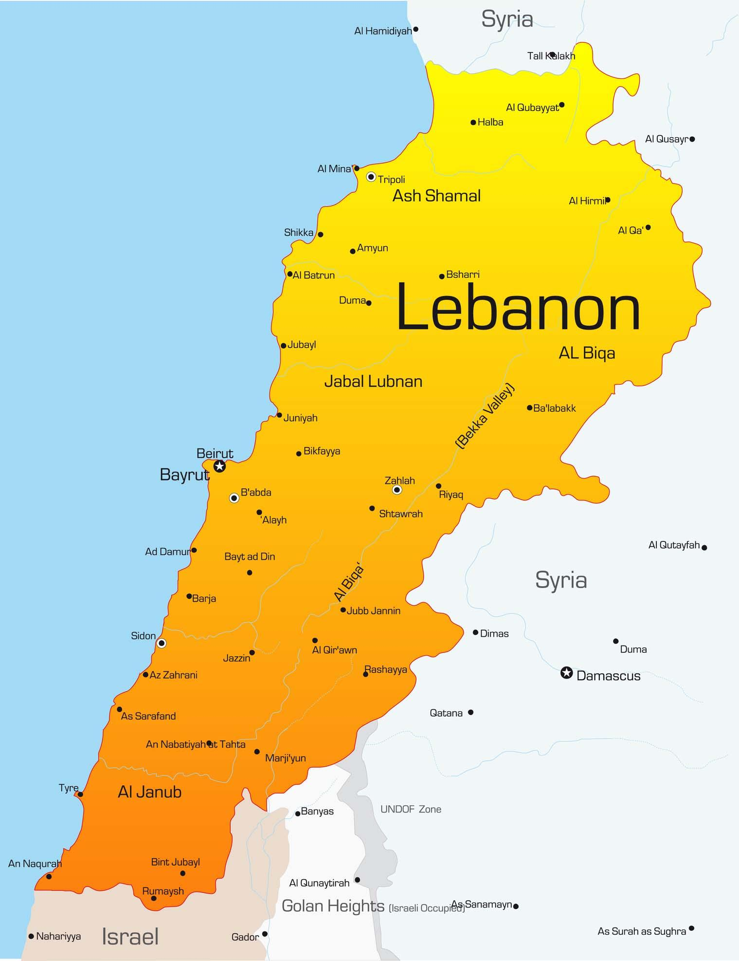 Travel to Lebanon